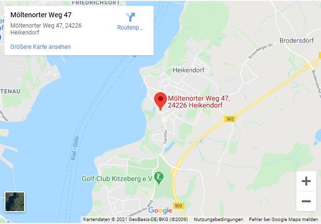 Route zum Shop Maritime Taschen in Heikendorf
